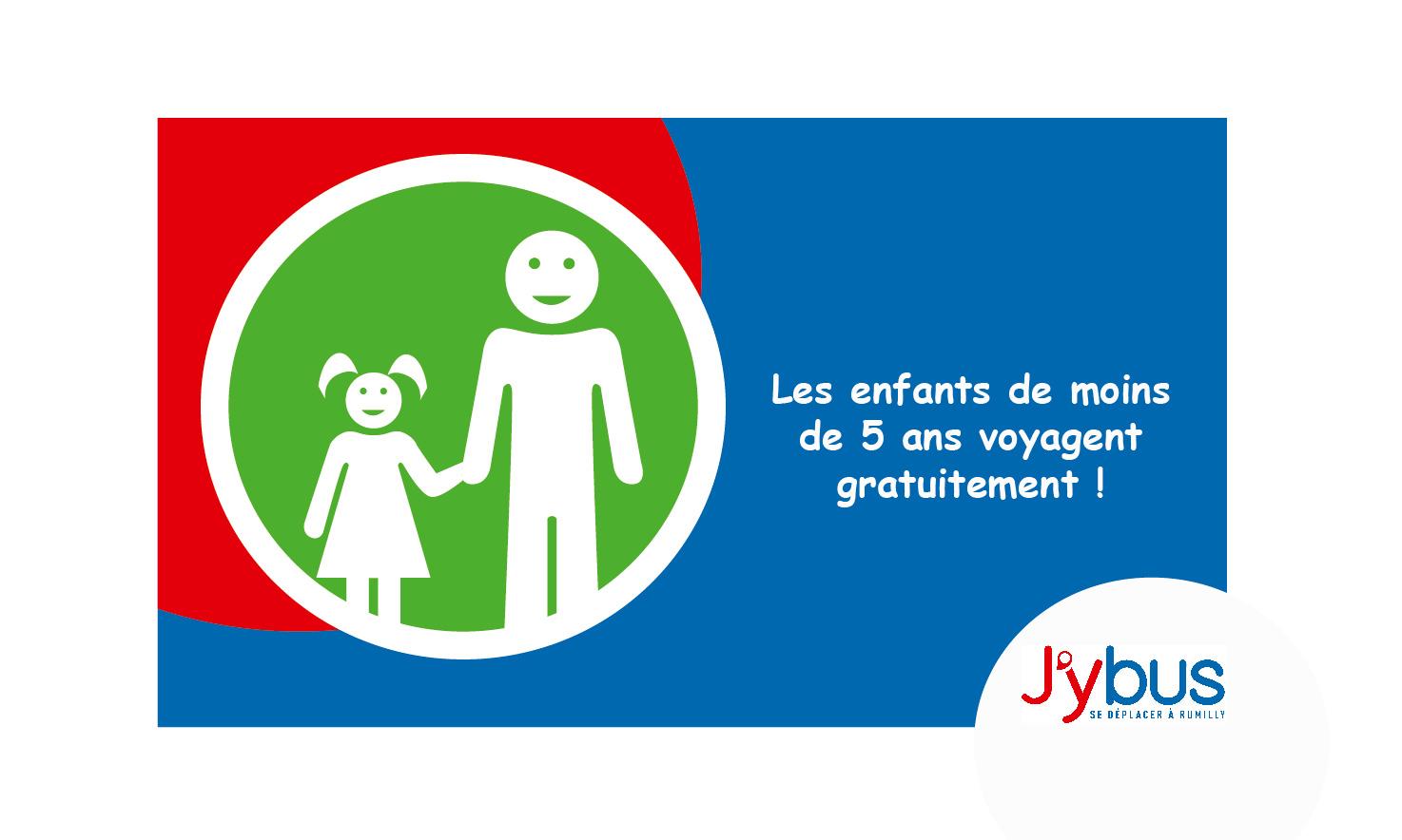 Enfant = Conditions d'accès au réseau J'ybus