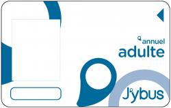 Carte abonnement Adulte J'ybus