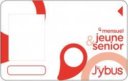 Carte abonnement Jeune et Senior