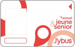 Carte abonnement Jeune & Senior J'ybus